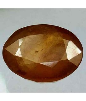 7.12 Carats African Yellow Sapphire 12.55 x 10.19 x 5.12 mm
