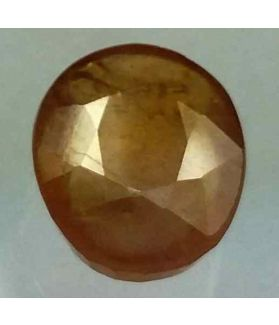 5.78 Carats African Yellow Sapphire 12.14 x 9.62 x 4.40 mm