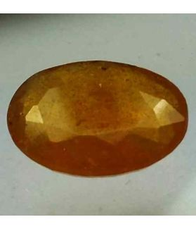 6.93 Carats African Yellow Sapphire 13.93 x 10.22 x 4.29 mm