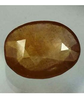 7.48 Carats African Yellow Sapphire 13.49 x 11.46 x 4.27 mm