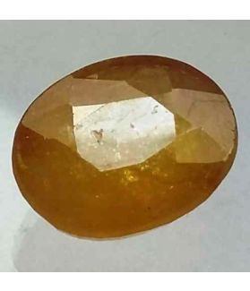 9.84 Carats African Yellow Sapphire 13.68 x 11.06 x 6.42 mm