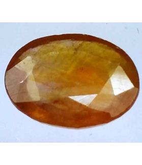 8.50 Carats African Padparadscha Sapphire 14.41 x 11.54 x 4.71 mm