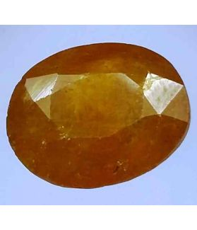 7.14 Carats African Padparadscha Sapphire 12.11 x 10.18 x 5.96 mm