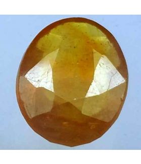 3.25 Carats African Padparadscha Sapphire 13.04 x 9.88 x 4.65 mm