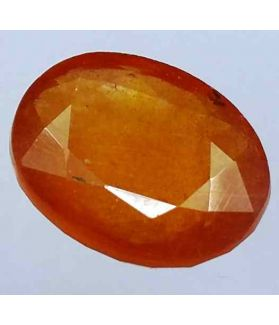 8.12 Carats African Padparadscha Sapphire 12.50 x 10.23 x 5.55 mm