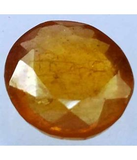 5.17 Carats African Padparadscha Sapphire 11.32 x 10.06 x 3.83 mm