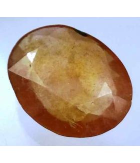 6.93 Carats African Padparadscha Sapphire 14.06 x 11.06 x 4.09 mm