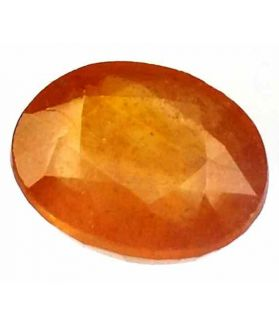 9.84 Carats African Padparadscha Sapphire 13.25 x 11.32 x 6.58 mm