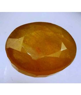13.17 Carats African Padparadscha Sapphire 14.55 x 11.98 x 6.54 mm