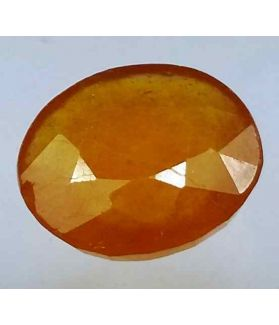 9.31 Carats African Padparadscha Sapphire 13.75 x 11.78 x 5.21 mm