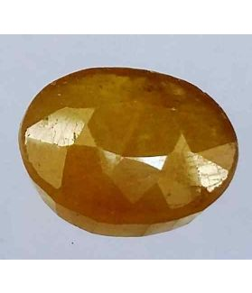 5.96 Carats African Padparadscha Sapphire 13.51 x 8.63 x 4.31 mm