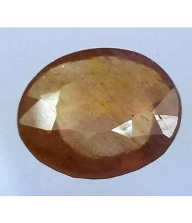 6.05 Carats African Padparadscha Sapphire 12.00 x 10.75 x 4.30 mm