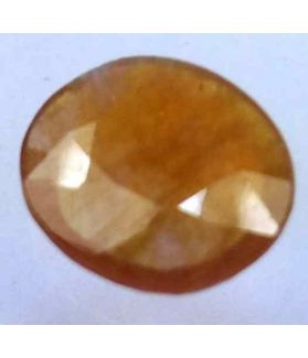 5.66 Carats African Padparadscha Sapphire 12.39 x 11.14 x 3.63 mm