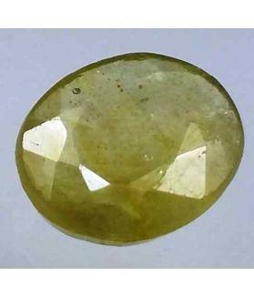 4.00 Carats African Green Sapphire 10.83 x 9.00 x 3.62 mm