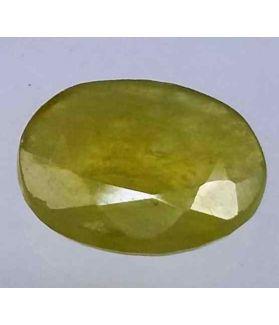 3.10 Carats African Green Sapphire 10.72 x 8.73 x 2.69 mm