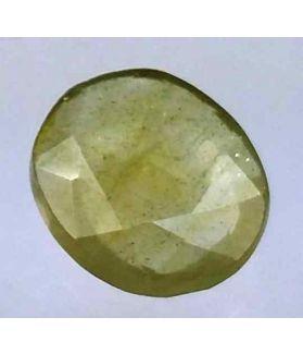 3.35 Carats African Green Sapphire 10.30 x 8.76 x 3.17 mm