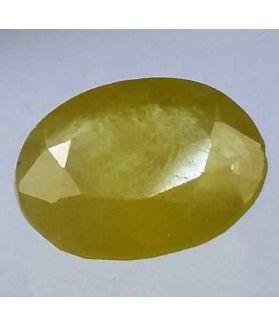 3.71 Carats African Green Sapphire 10.33 x 8.18 x 4.31 mm