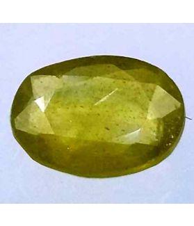 3.03 Carats African Green Sapphire 9.73 x 7.49 x 4.63 mm