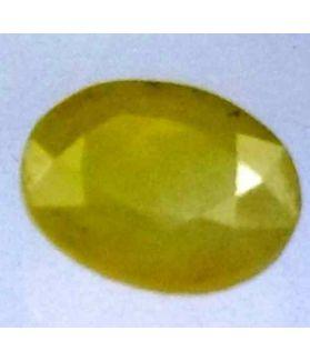 3.30 Carats African Green Sapphire 10.01 x 9.42 x 3.78 mm