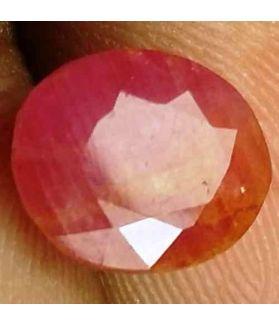 3.22 Carats Burma Mines Ruby 9.06 x 7.67 x 4.92 mm