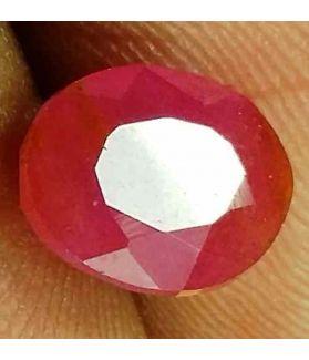 2.41 Carats Burma Mines Ruby 7.89 x 6.73 x 4.95 mm