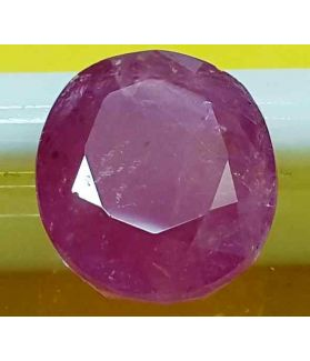 5.82 Carats Mozambique Ruby  11.43 X 9.77 X 4.80 mm