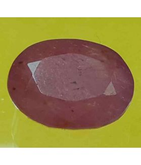 5.85 Carats Mozambique Ruby  11.53 X 8.98 X 5.03 mm