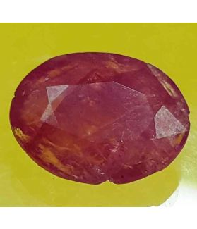 5.17 Carats Mozambique Ruby  12.35 X 9.85 X 4.16 mm