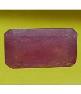 5.54 Carats Mozambique Ruby  13.21 X 7.21 X 5.06 mm