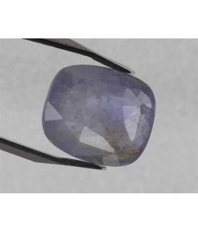 6 Carats Purplish Blue Sapphire 11.75 x 10.00 x 4.60 mm