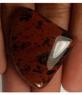45.58 CT Mahogany Obsidian 28.81x35.07x7.50mm