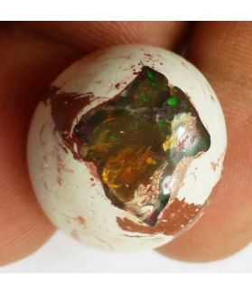 22.09 Carats Natural Mexicon Opal 22.24 x 18.79 x 9.47 mm