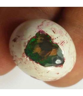 17.27 Carats Natural Mexicon Opal 19.30 x 16.28 x 9.27 mm