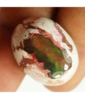28.31 Carats Natural Mexicon Opal 24.52 x 18.70 x 10.23 mm