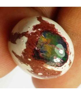 15.64 Carats Natural Mexicon Opal 19.06 x 16.03 x 9.00 mm