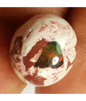 9.74 Carats Natural Mexicon Opal 16.11 x 13.95 x 6.78 mm