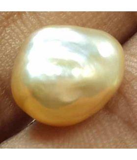 3.66 Carats Natural Venezuela Pearl 10.76 x 8.58 x 6.14 mm