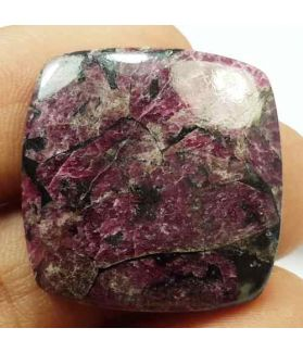 30.58 Carats Natural Eudialyte 24.11 x 23.57 x 4.52 mm