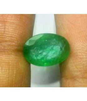 3.78 Carats Colombian Emerald 12.48 x 8.83 x 4.77 mm