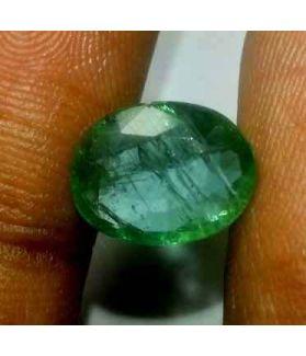 3.10 Carats Colombian Emerald 11.16 x 8.57 x 4.57 mm