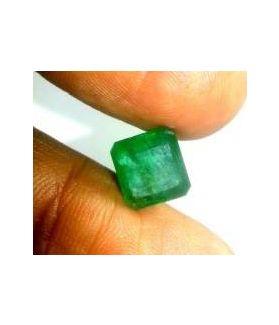 4.33 Carats Colombian Emerald 9.47 x 8.90 x 6.05 mm