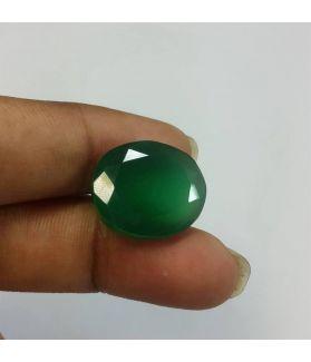 10.21 Carats Green Onyx 15.58 x 13.30 x 5.85 mm