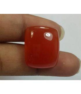 22.86 Carats Orange Chalcedony 20.04 x 16.64 x 7.30 mm