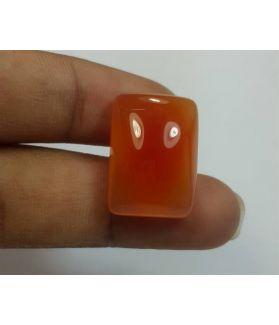 19.7 Carats Orange Chalcedony 19.22 x 13.71 x 7.91 mm