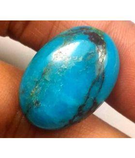 13.84 Carats  Arizona Turquoise 21.15 x 14.87 x 5.70 mm