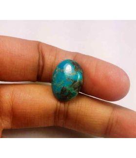 7.21 Carats  Arizona Turquoise 16.93 x 12.41 x 4.61 mm