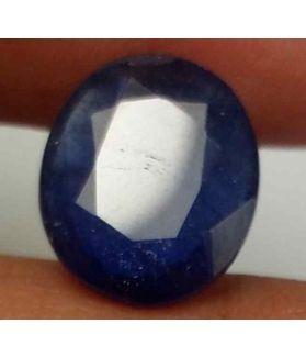 5.77 Carats Blue African Sapphire 12.14 x 10.36 x 5.14 mm