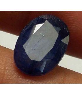 5.90 Carats Blue African Sapphire 12.78 x 9.18 x 4.68 mm