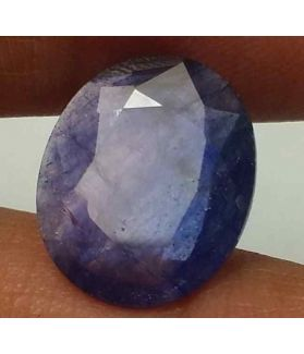 5.03 Carats Blue African Sapphire 13.53 x 11.20 x 3.06 mm