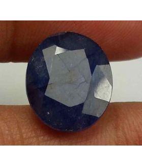 8.03 Carats Blue African Sapphire 13.05 x 10.95 x 5.03 mm